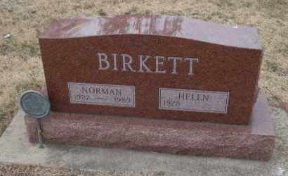 BIRKETT, NORMAN - Will County, Illinois | NORMAN BIRKETT - Illinois Gravestone Photos