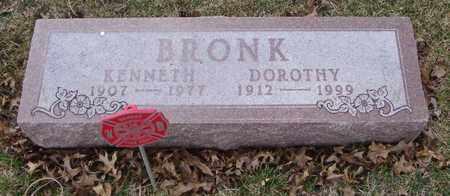 BRONK, KENNETH - Will County, Illinois | KENNETH BRONK - Illinois Gravestone Photos