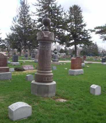 BROWN, A. E. - Will County, Illinois | A. E. BROWN - Illinois Gravestone Photos