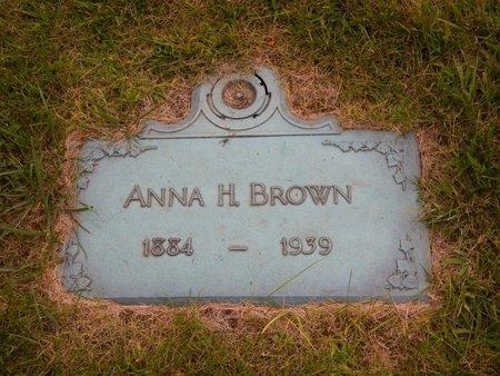 BROWN, ANNA H - Will County, Illinois | ANNA H BROWN - Illinois Gravestone Photos