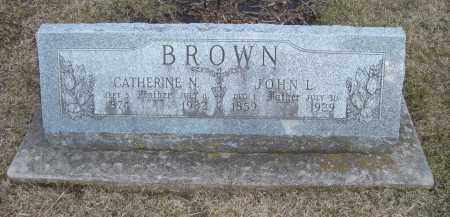 BROWN, CATHERINE N. - Will County, Illinois | CATHERINE N. BROWN - Illinois Gravestone Photos
