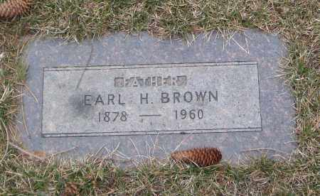 BROWN, EARL H. - Will County, Illinois | EARL H. BROWN - Illinois Gravestone Photos