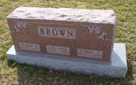 BROWN, ELMER B. - Will County, Illinois | ELMER B. BROWN - Illinois Gravestone Photos