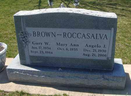 BROWN, MARY ANN - Will County, Illinois | MARY ANN BROWN - Illinois Gravestone Photos