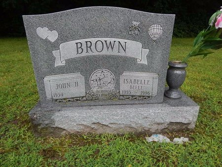 """BROWN, ISABELLE """"BELLE"""" - Will County, Illinois 