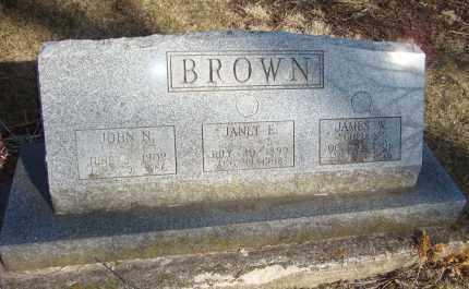 BROWN, JANET E. - Will County, Illinois | JANET E. BROWN - Illinois Gravestone Photos