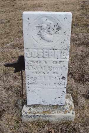 BROWN, JOSEPH E. - Will County, Illinois   JOSEPH E. BROWN - Illinois Gravestone Photos