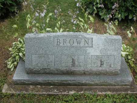 BROWN, JANET - Will County, Illinois | JANET BROWN - Illinois Gravestone Photos