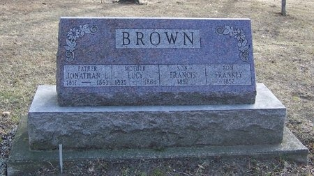 BROWN, LUCY - Will County, Illinois | LUCY BROWN - Illinois Gravestone Photos