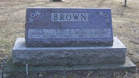 BROWN, FRANCIS - Will County, Illinois | FRANCIS BROWN - Illinois Gravestone Photos