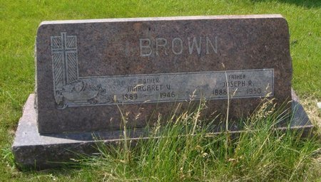 BROWN, JOSEPH R. - Will County, Illinois | JOSEPH R. BROWN - Illinois Gravestone Photos