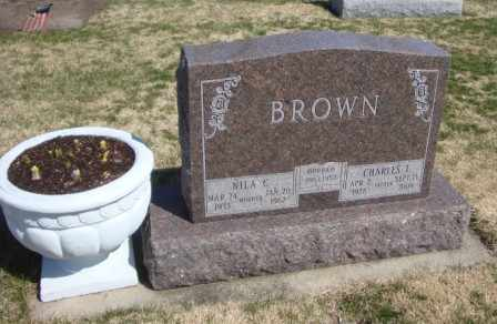 BROWN, CHARLES L. - Will County, Illinois | CHARLES L. BROWN - Illinois Gravestone Photos