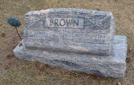 BROWN, ROBERT - Will County, Illinois | ROBERT BROWN - Illinois Gravestone Photos