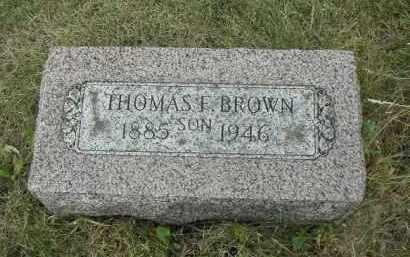 BROWN, THOMAS - Will County, Illinois   THOMAS BROWN - Illinois Gravestone Photos
