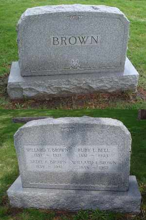 BROWN, WILLARD L. - Will County, Illinois | WILLARD L. BROWN - Illinois Gravestone Photos