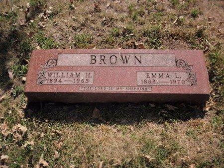 BROWN, WILLIAM H - Will County, Illinois | WILLIAM H BROWN - Illinois Gravestone Photos