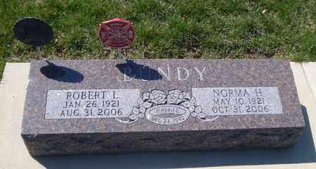 BUNDY, ROBERT L. - Will County, Illinois   ROBERT L. BUNDY - Illinois Gravestone Photos