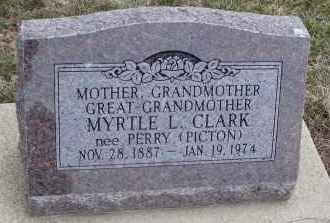 PICTON, MYRTLE L. - Will County, Illinois | MYRTLE L. PICTON - Illinois Gravestone Photos