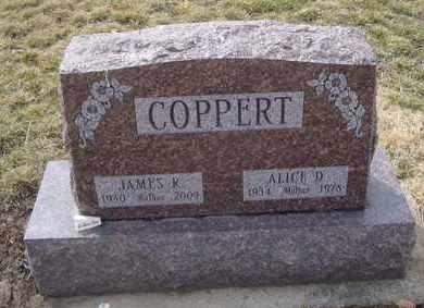 COPPERT, JAMES R. - Will County, Illinois | JAMES R. COPPERT - Illinois Gravestone Photos
