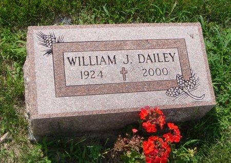 DAILEY, WILLIAM J. - Will County, Illinois | WILLIAM J. DAILEY - Illinois Gravestone Photos