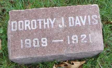 DAVIS, DOROTHY J. - Will County, Illinois   DOROTHY J. DAVIS - Illinois Gravestone Photos