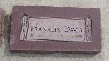 DAVIS, FRANKLIN - Will County, Illinois   FRANKLIN DAVIS - Illinois Gravestone Photos