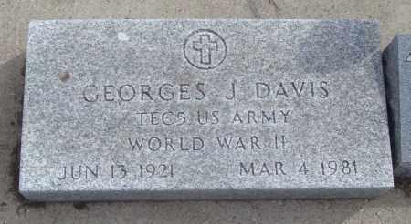 DAVIS, GEORGES J. - Will County, Illinois | GEORGES J. DAVIS - Illinois Gravestone Photos
