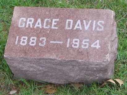 DAVIS, GRACE - Will County, Illinois | GRACE DAVIS - Illinois Gravestone Photos