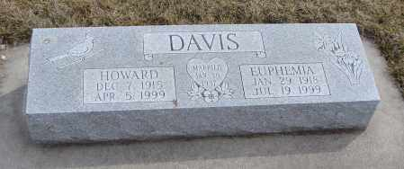 DAVIS, HOWARD - Will County, Illinois | HOWARD DAVIS - Illinois Gravestone Photos