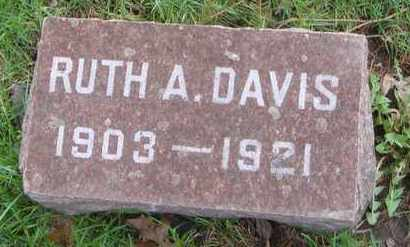 DAVIS, RUTH A. - Will County, Illinois | RUTH A. DAVIS - Illinois Gravestone Photos