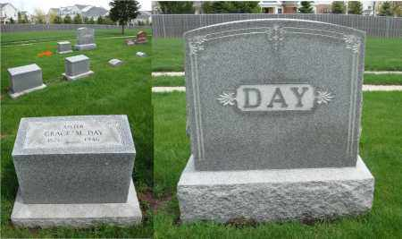 DAY, GRACE M. - Will County, Illinois | GRACE M. DAY - Illinois Gravestone Photos