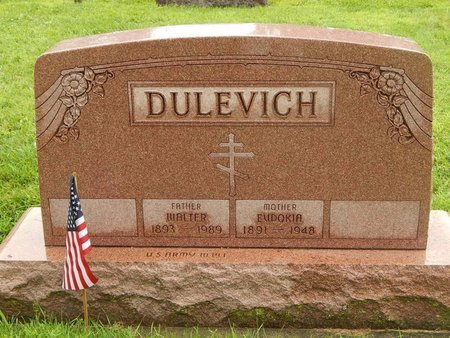 DULEVICH, EUDOKIA - Will County, Illinois | EUDOKIA DULEVICH - Illinois Gravestone Photos