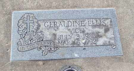 "ELLIS, GERALDINE ""VICKI"" - Will County, Illinois 