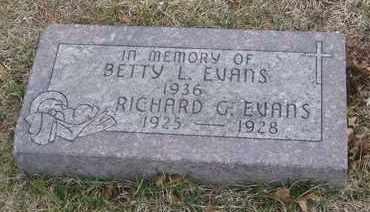 EVANS, BETTY L. - Will County, Illinois | BETTY L. EVANS - Illinois Gravestone Photos