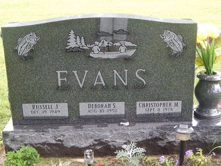 EVANS, CHRISTOPHER M - Will County, Illinois | CHRISTOPHER M EVANS - Illinois Gravestone Photos