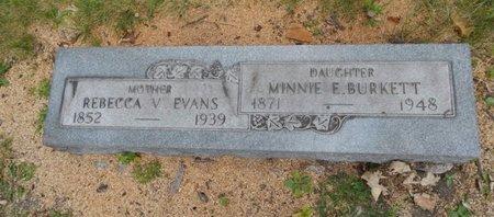 EVANS, REBECCA V - Will County, Illinois   REBECCA V EVANS - Illinois Gravestone Photos