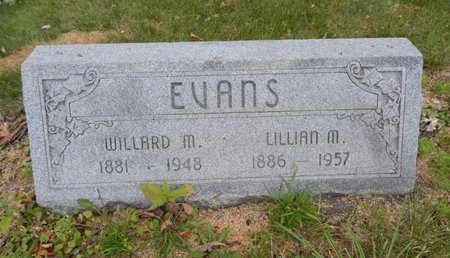 EVANS, WILLARD M - Will County, Illinois | WILLARD M EVANS - Illinois Gravestone Photos