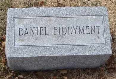 FIDDYMENT, DANIEL - Will County, Illinois | DANIEL FIDDYMENT - Illinois Gravestone Photos