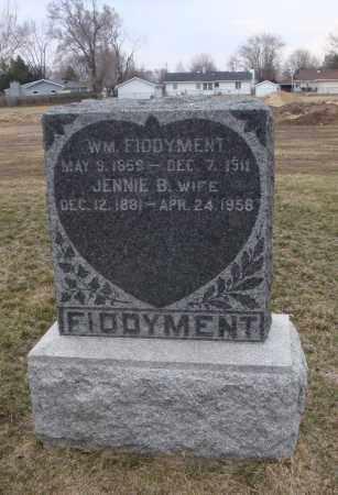 FIDDYMENT, WILLIAM - Will County, Illinois | WILLIAM FIDDYMENT - Illinois Gravestone Photos