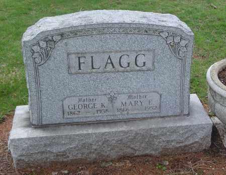 FLAGG, GEORGE K. - Will County, Illinois   GEORGE K. FLAGG - Illinois Gravestone Photos