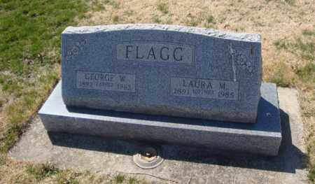 FLAGG, GEORGE W. - Will County, Illinois | GEORGE W. FLAGG - Illinois Gravestone Photos