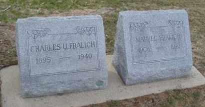 FRALICH, MARVEL - Will County, Illinois | MARVEL FRALICH - Illinois Gravestone Photos
