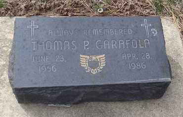 GARAFOLA, THOMAS P. - Will County, Illinois | THOMAS P. GARAFOLA - Illinois Gravestone Photos