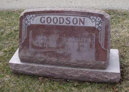 GOODSON, SARA A. - Will County, Illinois | SARA A. GOODSON - Illinois Gravestone Photos