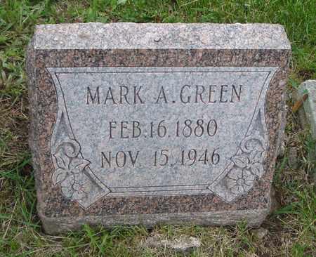 GREEN, MARK A. - Will County, Illinois | MARK A. GREEN - Illinois Gravestone Photos
