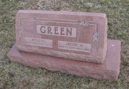 GREEN, ROSE N. - Will County, Illinois | ROSE N. GREEN - Illinois Gravestone Photos