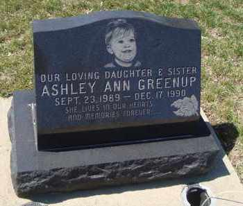GREENUP, ASHLEY ANN - Will County, Illinois | ASHLEY ANN GREENUP - Illinois Gravestone Photos
