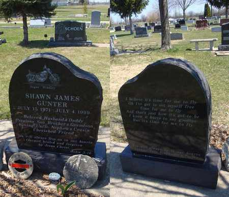 GUNTER, SHAWN JAMES - Will County, Illinois | SHAWN JAMES GUNTER - Illinois Gravestone Photos