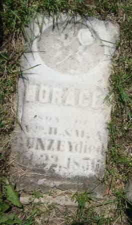 GUNZEY, HORACE - Will County, Illinois | HORACE GUNZEY - Illinois Gravestone Photos