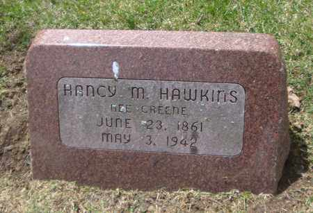 GREENE HAWKINS, HANCY M. - Will County, Illinois | HANCY M. GREENE HAWKINS - Illinois Gravestone Photos